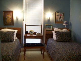 Fredericksburg farmhouse photo - Twin Bedroom