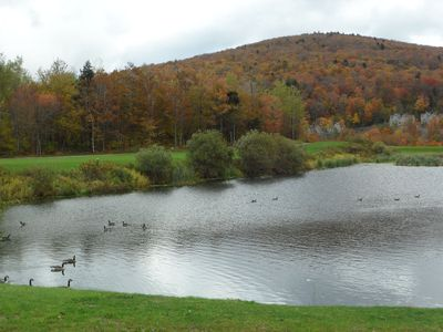 Killington condo rental - Beautiful fall foliage