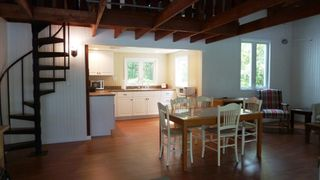 Cape Charles cottage photo - Walk into the open concept living, dining and kitchen.