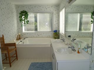 Westhampton house photo - Master Bath with Jacuzzi and Shower