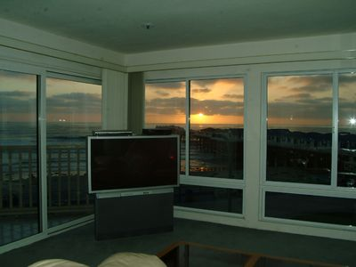 Sunset View from inside