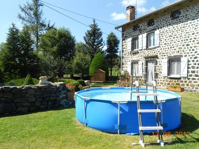 Family cottage, 3 keys quiet crossroads of hiking, Southern Auvergne