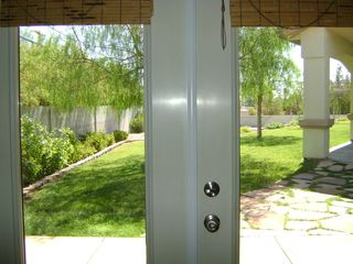 Las Vegas house photo - FRENCH DOORS-VIEW FROM LIVING ROOM