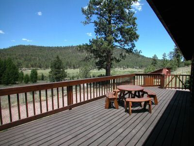 View from deck of Sargent's Lodge