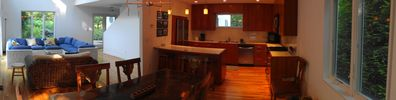 East Hampton house rental - Kitchen and Dining Area