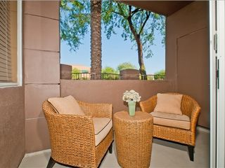 Kierland Scottsdale condo photo - Cozy patio area