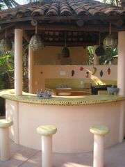 Troncones estate photo - Mini Villa Poolside BBQ/Wetbar