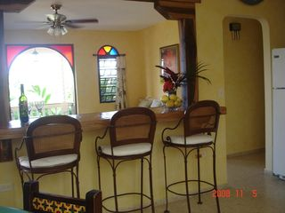 Rincon villa photo - Breakfast bar, bright open living area