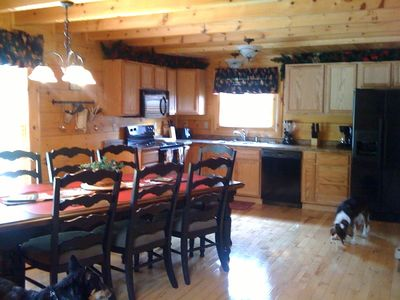 Fully equipped kitchen for entertaining, and pet friendly too!!