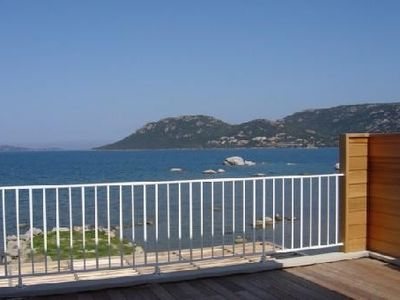 Penthouse, overlooking the Gulf of Porto-Vecchio, sleeps 4