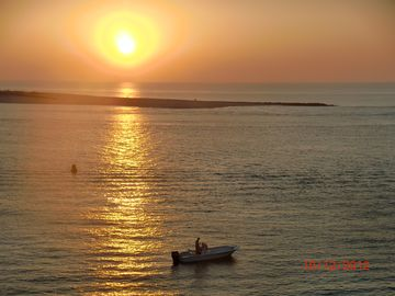 Watch the sunrise over Perdido Pass from your balcony