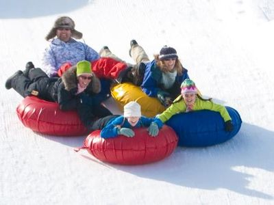 There are Two Private Tubing Areas within 3 Miles or You Can Tube in the Forest.