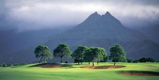 Princeville house photo - Two golf courses, 5 mins away, this is one of them