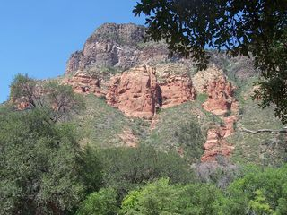 Sedona cottage photo - Views of the red rocks.