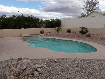 GUNITE POOL/ SPA