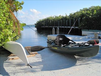 ocean/fishing kayaks with rod holders for poles-we now have 4 available to use.