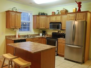Garden City Beach house photo - Main level kitchen with