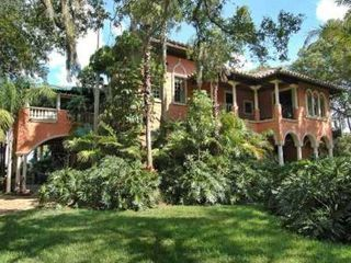 Tampa house photo - Italian Palace on Lake, Tampa's Finest 5 Acre Gated Estate on Lake Keystone