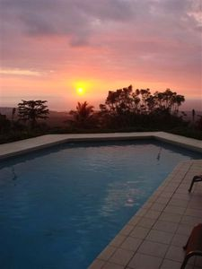 Enjoy amazing Evening Views as the sun sets over the Pacific Ocean