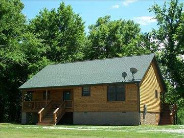 Norfork cabin rental - Front View of White River Get Away Cabin (#1)