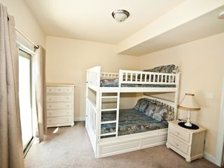 Atlantic City townhome photo - Bunk Bedroom with Private Deck!