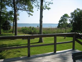 Sag Harbor house photo - View from deck