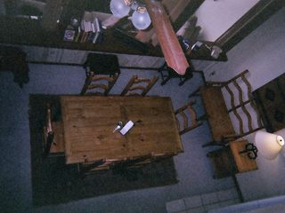 Granby condo photo - A birds eye view of the Dining Room.