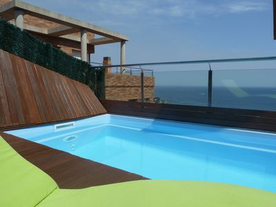 Confortable apartment with private pool, terrace and excellent sea views