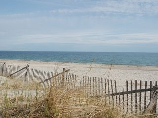 East Sandwich house photo - . . to your private Cape Cod Bay beach.