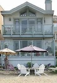 Sunset Beach house rental - A-73 Surfside -right on the beach, right on the money!