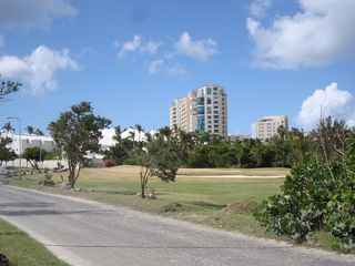 Cupecoy condo photo - Building as seen from the golf course