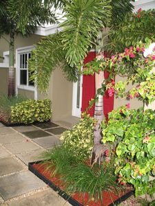 Fort Lauderdale villa rental - Current Picture of Front Doors