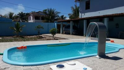 Excellent home in Guaibim w / pool - 5 bedrooms (2 suites w / air cond.) + WI FI