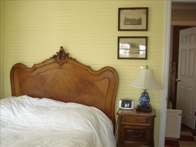 Bedroom 1- Great views, Antique Charm