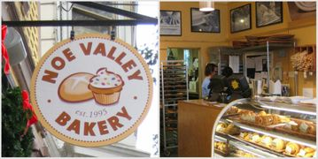 Noe Valley Bakery on 24th Street, fresh bread, rolls, cookies..yummy!