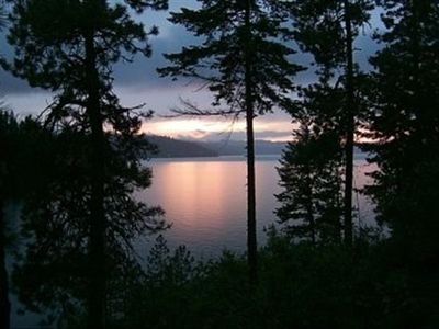Coeur d 'Alene cottage rental - Beautiful sunsets