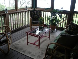 Portsmouth house photo - Screened Porch