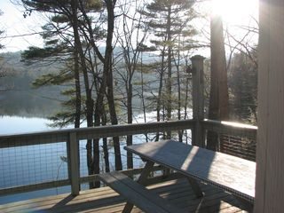 Casco cottage photo - Late fall view