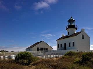 La Jolla house photo - A must see--Point Loma Light House and Cabrillo Monumnet. (10 miles away)