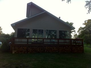 Curtis cottage photo - View from Big Manistique Lake