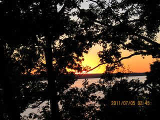Ithaca cottage photo - Sunset over Cayuga Lake