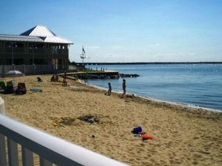 Bayside Beach, Bar, Grill, Boardwalk Path