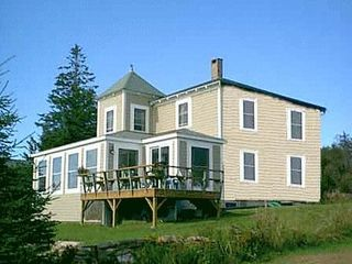 Pemaquid Point cottage photo - Front of cottage