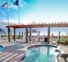 Seaside condo photo - Outdoor Jacuzzi at The Resort at Seaside Oregon