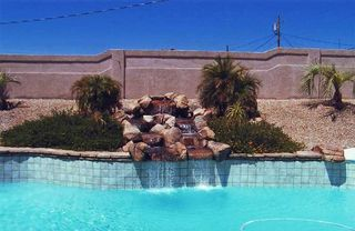 Lake Havasu City house photo - Enjoy the sounds of the waterfall