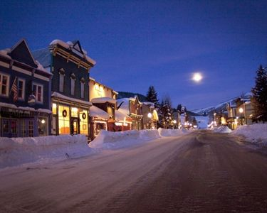 Town of Crested Butte at Night!