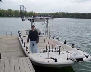 Moneta house photo - Fishing Guide Captain Bert picks you up and returns you to Allure's dock!