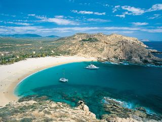 San Jose del Cabo condo photo - Santa Maria Beach. Beautiful secluded cove, perfect for snorkeling. 15 min away.