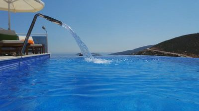 Fully equipped, 4 Bedroom Triplex Villa in Kalkan with Sea Views from all areas