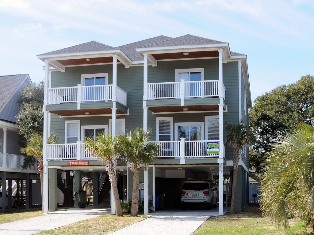 Private Homes Vacation Rental Vrbo 239539 4 Br Surfside Beach House In Sc 4 Bedroom 4 5